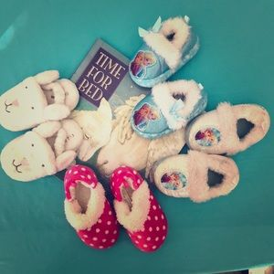 Other - 4 pair of toddler slippers